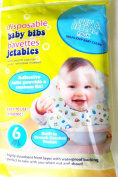 Disposable Baby Bibs - Package of 6