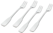 Ginkgo Alsace Stainless Steel Seafood Forks, Set of 4