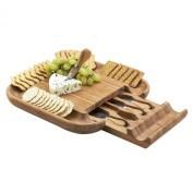 Picnic at Ascot Malvern Cheese Board Set, Natural