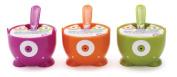 Monster Fun Dessert Bowl & Spoon by MSC (Random Colours) - 350ml