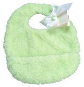 Pickles Cloud Baby Bib, Green