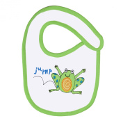 Funkoos 123 Jump Organic Cotton Bib for Newborn Baby Infant Boy