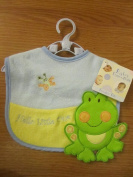 Baby Essentials Feeding Bib (Hello Little One) Frog