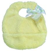Pickles Cloud Baby Bib, Yellow