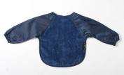 Mum2Mum Long Sleevev Baby Bib Navy 18/36mths