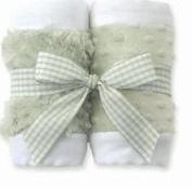 Bearington Baby - Green Burpy Set