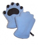 BearHands IF1000PBL Infant Fleece Mittens Powder Blue