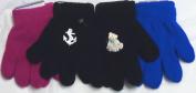 Set of Three Pairs one Size Magic Gloves