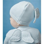 Baby Boy Blue Angel Wing Hat Size 0-12 Months - 198114