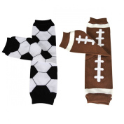 Wrapables Colourful Baby Leg Warmers (Set of 2) - Sporty