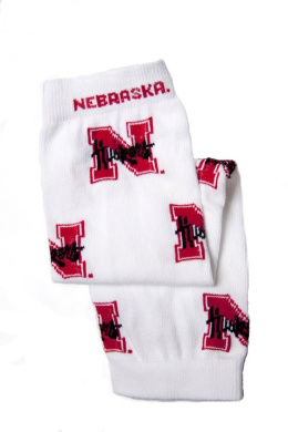 Licenced University of Nebraska Baby & Kids Leg Warmers