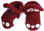 Knitted Baby Car Booties, Size