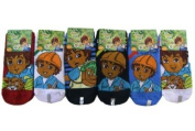 Nick Jr Diego The Rescuer Socks ( 1 pair) size 6-8