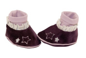 Moulin Roty Baby Slippers, Celeste