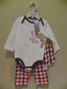 First Impresion Baby Boy 3 Pc Sleepwear Size 6-9m
