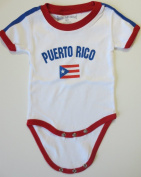 PUERTO RICO BABY BODYSUIT 100%COTTON. SIZE FOR 12 MONTHS .NEW