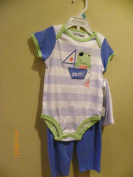First Impression Baby Boy Sleepwear Size 6-9m