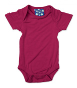 KicKee Pants Short Sleeved One-Piece, Orchid, 3-6 Months