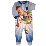 Blue Toy Story Blanket Sleeper (Size 18M) - Infant Pyjamas