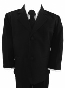 Gino Giovanni Black Formal Baby Suit Size Medium 6-12 Month
