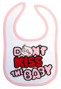 Baby bib - DKTB Pink Bubble Bib