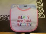 Nojo Girls Are Just Better! Baby Bib