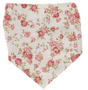 Beautiful Baby Bibs in Tiny Rose Print, Great Baby Gifts