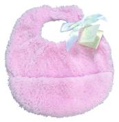 Pickles Cloud Baby Bib, Pink