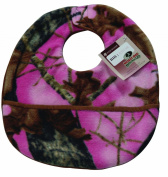 Scene Weaver Mossy Oak Camouflage Baby Bib, Break-Up Pink