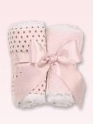 Baby's Pink Burp Cloth Set - S/2
