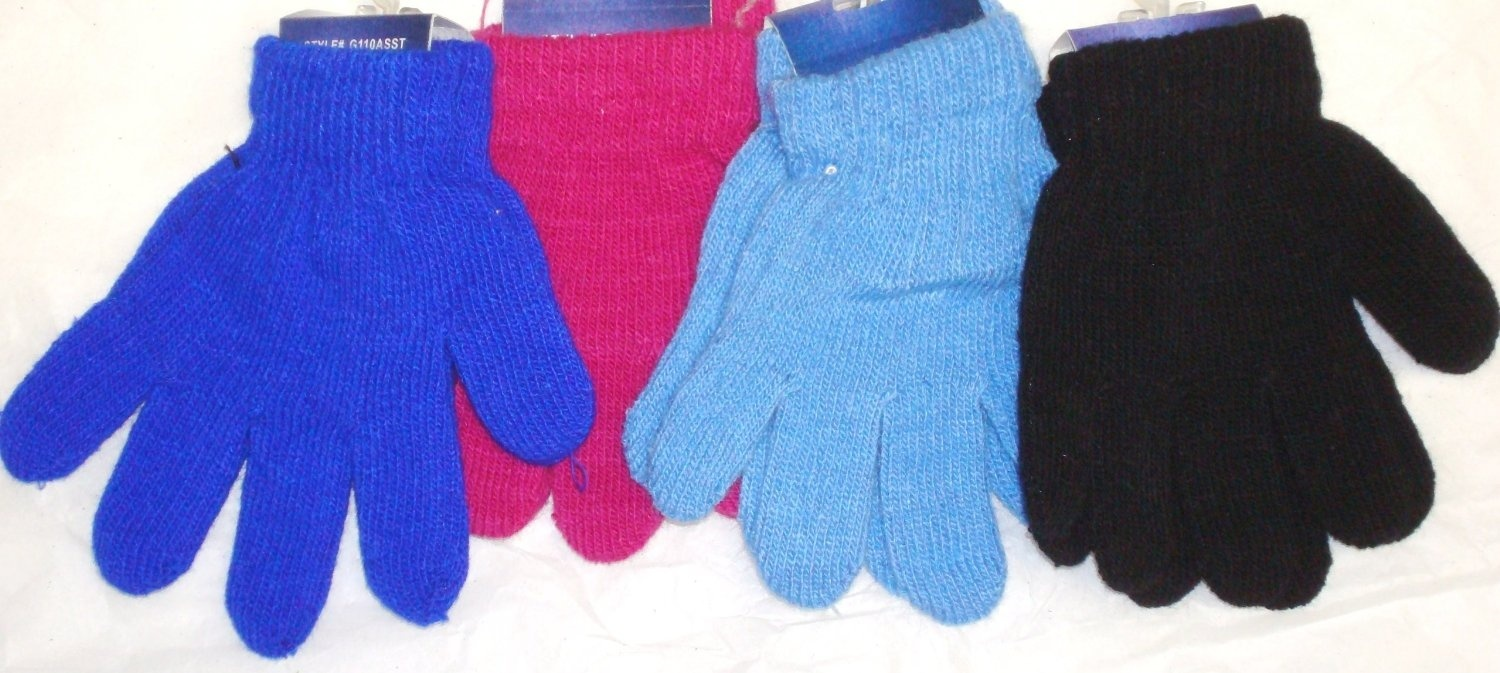 Accessories Baby Set of Four Pairs of Magic Stress Mittens for Infants Ages 0-6 Months.