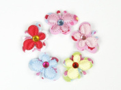 Sweet Lil' Butterfly - Baby Girl & Toddler Mini Hair Clips - Set of 5