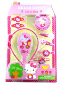 Pink Hello Kitty Hair Accessory Kit - Girls Hair Accessories