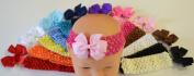 23 Piece Mix-N-Match Baby Bow Headband Set