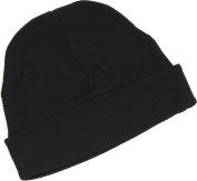 Black Baby Beanie Hat by Baby Milano.