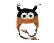 Winter Lovely Owl Design Baby Infant Boy Girl Warm Knitted Beanie Hat Cap B