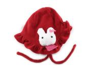 Winter Cartoon Velvet Baby Child Infant Princess Girl Beanie Earmuff Hat Cap