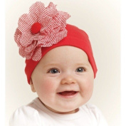 Red Baby Flower Hat