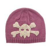 San Diego Hat Company Knit Skull Beanie, PINK Kids 1-2 YEARS