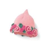 San Diego Hat Baby PINK FLOWER PIXIE Beanie Cap 0-6 Months Cute gift!!