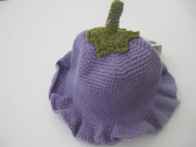 The San Diego Hat Crochet Grape Hat Purple Size 0-3 Months