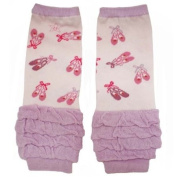 Baby Dance Slippers Leg Warmers