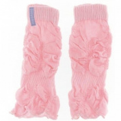 Baby Ballet Pink Legruffle Leg Warmers By Huggalugs