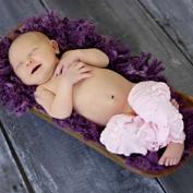 Baby Slipper Pink Legruffle Leg Wamers By Huggalugs