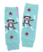 Huggalugs Nubies, Baby Sock Monkey Blue