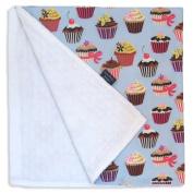 Cupcake Receiving Blanket
