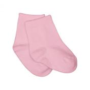 IPlay Organic Cotton Socks - Rose Pink Dots - 0 to 6 Months