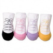 Baberoo Organic Cotton Baby Socks - Ballerina Design