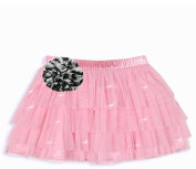 Baby Boutique Baby Girls Pink Tutu Sparkle Skirt, Pink, 3T