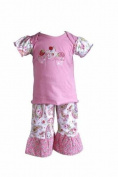 Pink Paisley Shirt & Pants Set